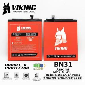 Harga battery batre viking double power xiaomi a1 bn31 | HARGALOKA.COM