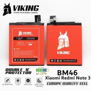 Harga battery batre viking double power xiaomi redmi note 3 bm46 | HARGALOKA.COM