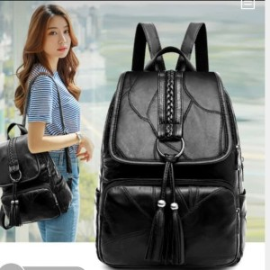 Harga tas wanita tas ransel backpack import tas wanita bahan | HARGALOKA.COM