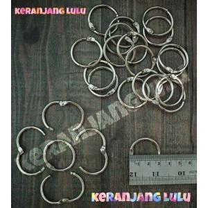 Harga Ring Binder Ring Scrapbook Gantungan Buka Tutup 3 Cm Katalog.or.id