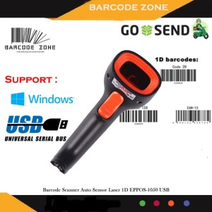 Harga barcode scanner laser eppos ep 1050m ep 1050m ep 1050 usb | HARGALOKA.COM