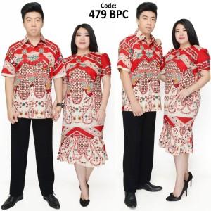 Harga dress batik super jumbo 479 bpc imlek natal   | HARGALOKA.COM