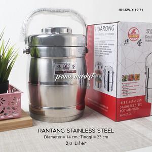 Harga rantang sup serbaguna stainless steel 2 | HARGALOKA.COM