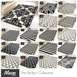 Harga carpet shop id karpet skyrugs 160x210 monochrome design   kode | HARGALOKA.COM
