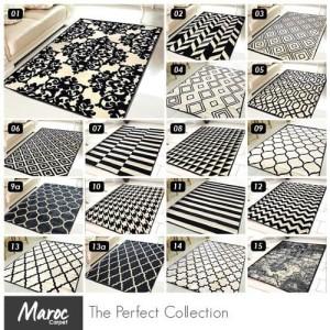 Harga carpet shop id karpet skyrugs 100x150 monochrome design   kode | HARGALOKA.COM