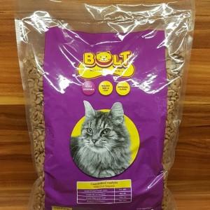 Harga makan kucing murah bolt bentuk ikan   HARGALOKA.COM