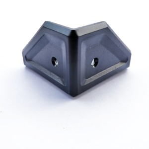 Harga siku plastik box speaker baut 2 motif trapesium 4 9 x 3 3cm per | HARGALOKA.COM