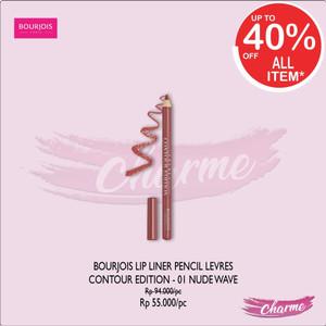 Harga ready amp ori bourjois lip liner pencil levres contour edition   | HARGALOKA.COM