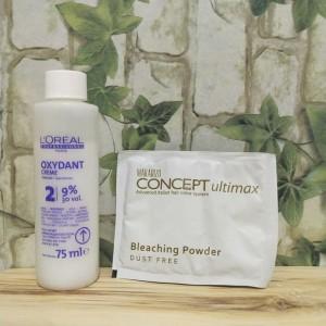 Harga makarizo paket bleachcing rambut concept | HARGALOKA.COM
