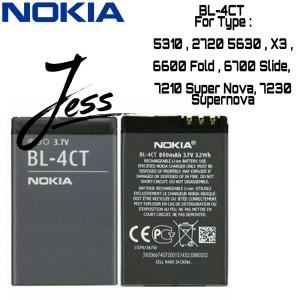 Harga baterai original nokia bl 4ct bl4ct bl 4ct 5310 6600 fold 6700   HARGALOKA.COM