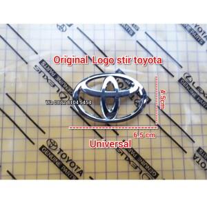 Harga logo emblem stir airbag toyota innova avanza rush agya calya | HARGALOKA.COM
