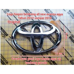 Harga logo emblem bagasi belakang toyota all new avanza veloz agya | HARGALOKA.COM