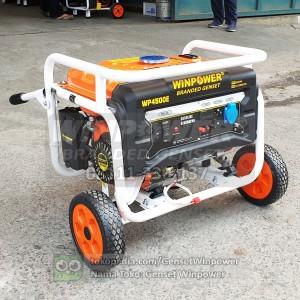 Harga genset generator winpower 3000 watt electric starter wp4500e | HARGALOKA.COM