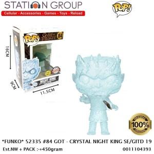Harga funko pop 52335 84 got   crystal night king se glow in the dark | HARGALOKA.COM