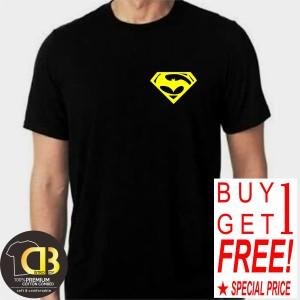 Harga buy 1 get 1 t shirt premium kaos baju distro pria wanita superman | HARGALOKA.COM