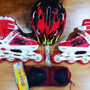 Harga sepatu roda otoped sepedah roda pu kuat aman untuk | HARGALOKA.COM