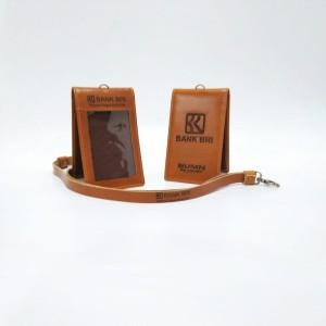 Harga name tag id card kulit asli peralatan kantor logo   HARGALOKA.COM