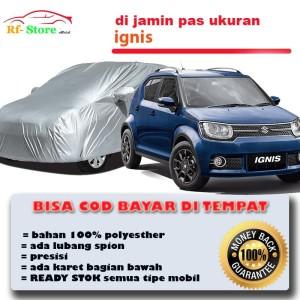 Harga ignis body cover sarung mobil suzuki ignis polyesther | HARGALOKA.COM