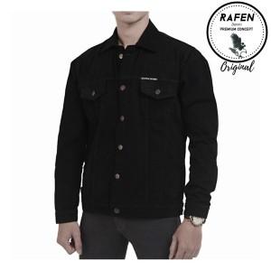 Harga jaket jeans original xxl   hitam   HARGALOKA.COM