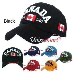 Harga canada est 1867 topi baseball hat cap casual sport pria wanita distro   | HARGALOKA.COM