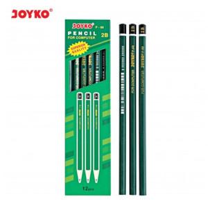 Harga pensil kayu joyko 2b   p 88 p 88 pencil atk murah grosir per lusin | HARGALOKA.COM