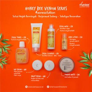Harga starterpack larissa jerawat aktif   sedang amp pencerahan honey bee   acne | HARGALOKA.COM