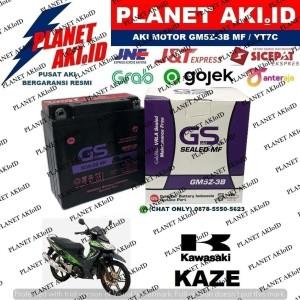 Harga aki motor kawasaki kaze gm5z3b gs y accu kering | HARGALOKA.COM