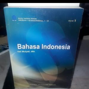 Harga buku ori bahasa indonesia edisi 1 terbitan universitas | HARGALOKA.COM