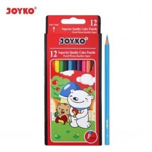 Harga grosir pensil warna joyko 12 besar color pencils cp 12pb | HARGALOKA.COM