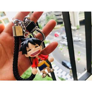 Harga one piece gantungan kunci mobil keychain gantungan tas gfit hadiah   merah | HARGALOKA.COM