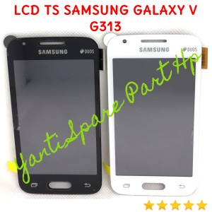 Harga lcd touchscreen samsung galaxy v g313 g313h original terlaris new   | HARGALOKA.COM