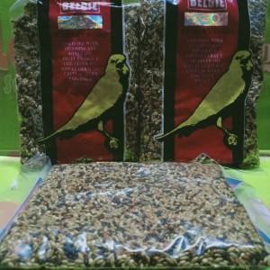 Harga pakan belgie makanan bueung kenari lovebird parrot biji bijian | HARGALOKA.COM