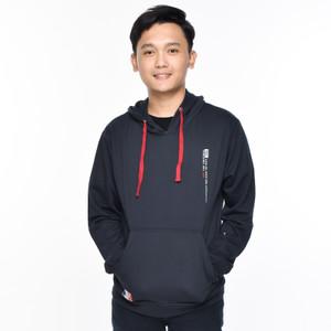 Harga metalizer 1189 sweater hoodie baju pria babyterry premium   navy | HARGALOKA.COM