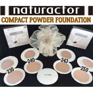 Harga naturactor compact powder foundation bedak padat two way cake powder   dua tiga   HARGALOKA.COM