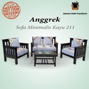 Harga Promo Free Ongkir Sofa Retro Scandinavian 211 Minimalis Berkualitas Katalog.or.id