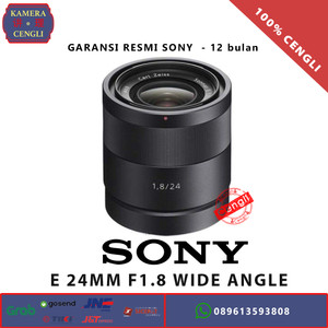 Harga sony e 24mm f1 8 wide angle prime lens carl zeiss   garansi resmi   HARGALOKA.COM