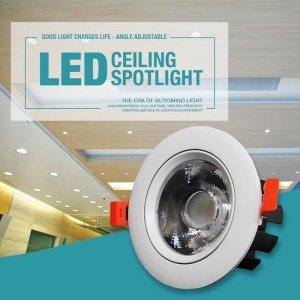 Harga lampu sorot cob spotlight spot light led downlight plafon 20w 20 | HARGALOKA.COM