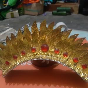 Harga aksesoris mahkota sunting padang baju adat   HARGALOKA.COM