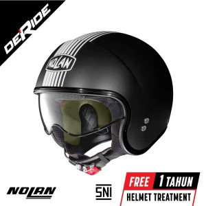 Info Helm Nolan N44 Evo Classic Flat Black Double D Ring Katalog.or.id
