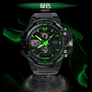 Harga skmei grenade 0990 hitam hijau original jam tangan import tahan air   hijau   HARGALOKA.COM