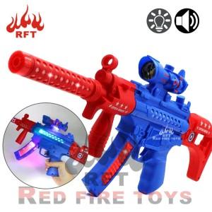 Harga mainan anak pistol military baterai sniper bergetar lampu | HARGALOKA.COM