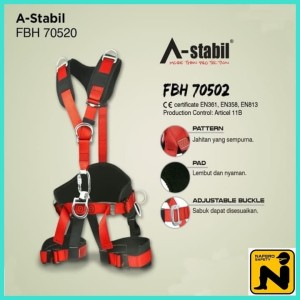 Harga full body harness astabil 70502 alat keselamatan safety   HARGALOKA.COM