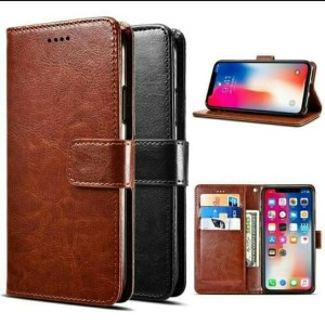 Harga flip cover samsung galaxy a31 cover kulit casing leather | HARGALOKA.COM