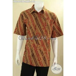 Harga hem batik modern klasik pria gemuk lengan pendek size xxxl | HARGALOKA.COM