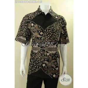 Harga baju batik pria gemuk lengan pendek bagus murah size xxxxl   HARGALOKA.COM