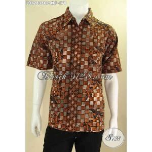 Harga hem batik modis pria gemuk lengan pendek motif baru size xxl | HARGALOKA.COM