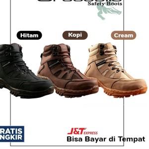 Harga Sepatu Safety Boots Crocodile Armour Gratis Kaos Kaki Katalog.or.id