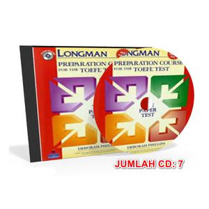Harga cd audio longman preparation course for the toefl test paper | HARGALOKA.COM