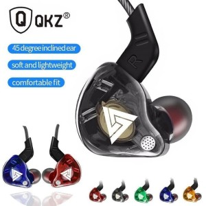 Harga qkz ak6 dynamic super bass earphone music hifi headset hi res sound   red with | HARGALOKA.COM