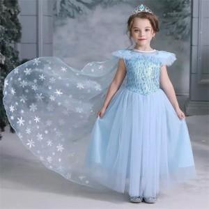 Harga baju elsa frozen 2 cg54   size | HARGALOKA.COM
